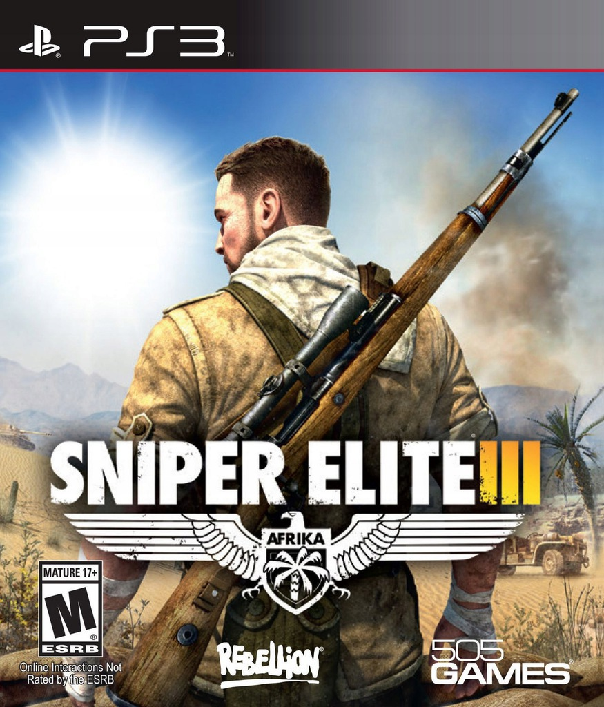 Sniper Elite Iii 3 Ps3 Pl 8213356523 Oficjalne Archiwum Allegro