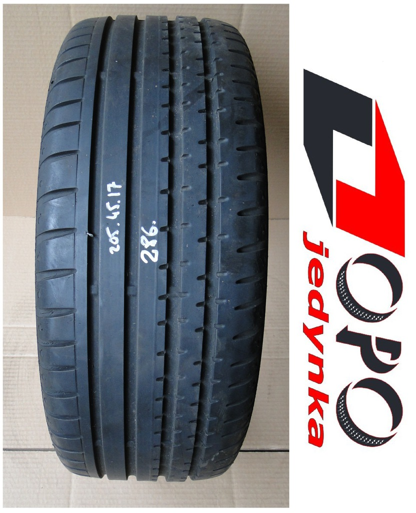 Continental SportContact 2 * 205/45R17 * b: 6,9mm