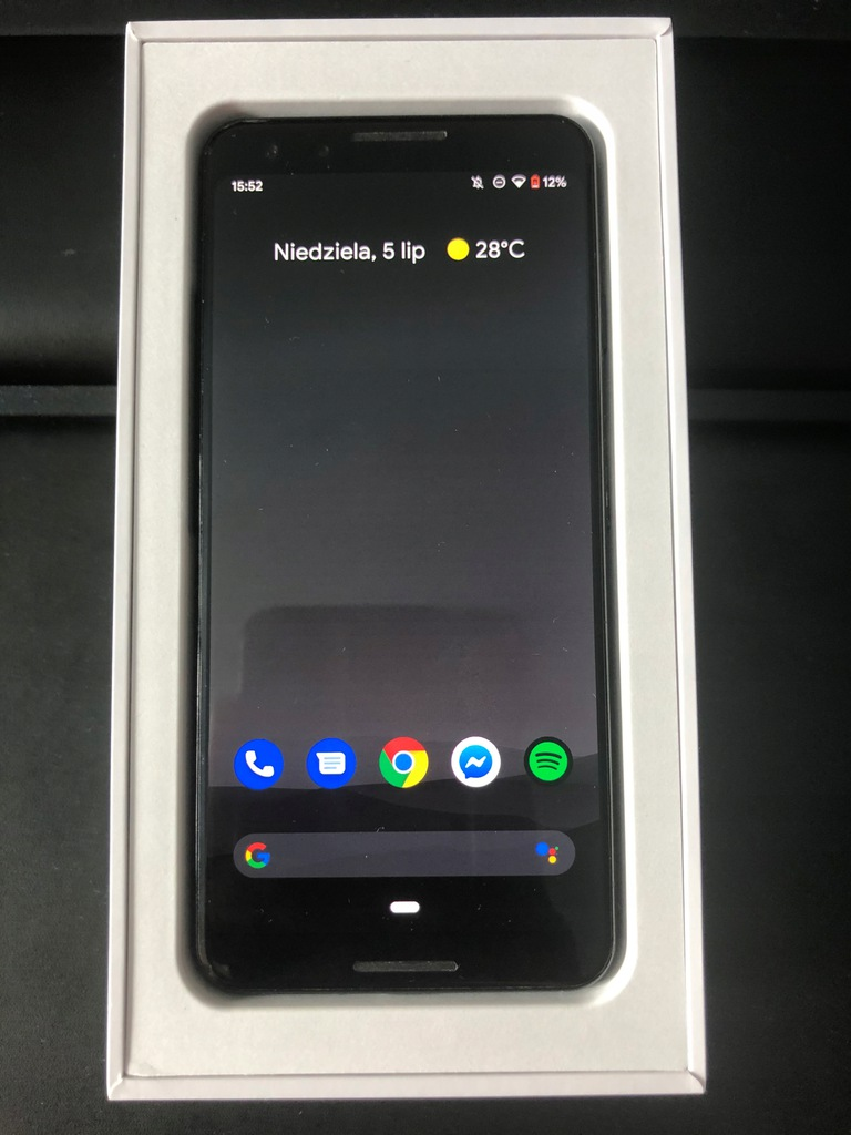 GOOGLE PIXEL 3 LTE 64GB BLACK