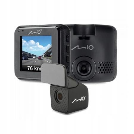 Wideorejestrator MIO MiVue C380 Dual GPS przód tył