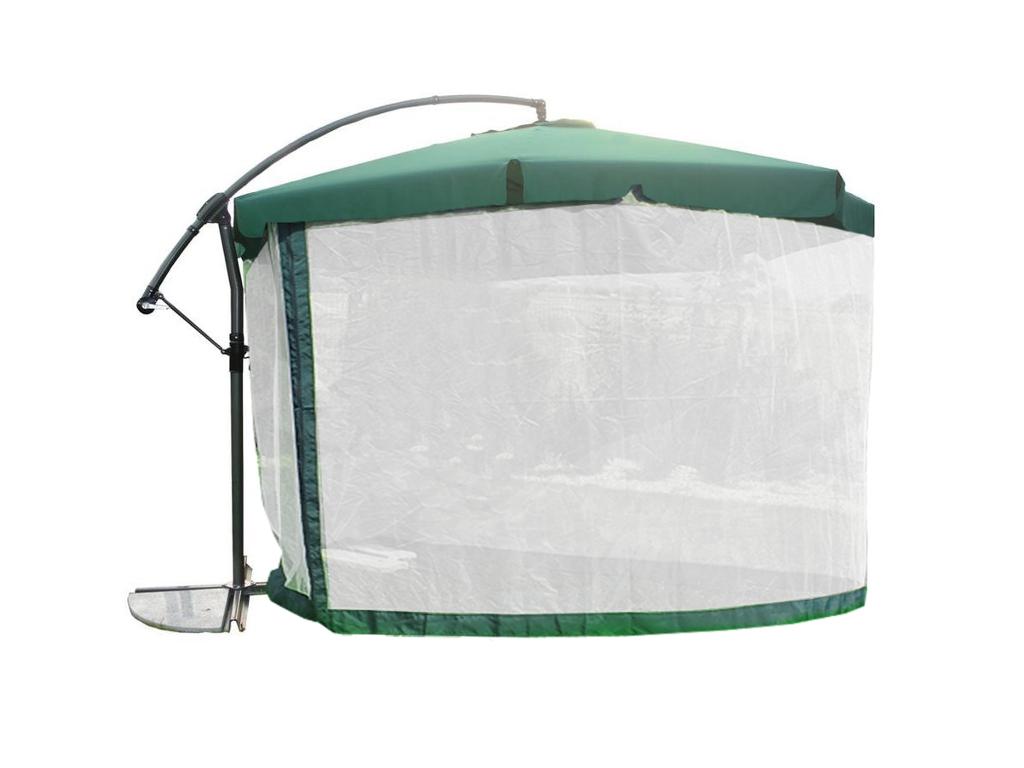 Parasol Ogrodowy Regulowany Wysiegnik Moskitiera 8121867096 Oficjalne Archiwum Allegro