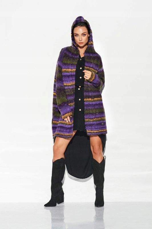 Sweter Kardigan LSG103 Violet - Lemoniade