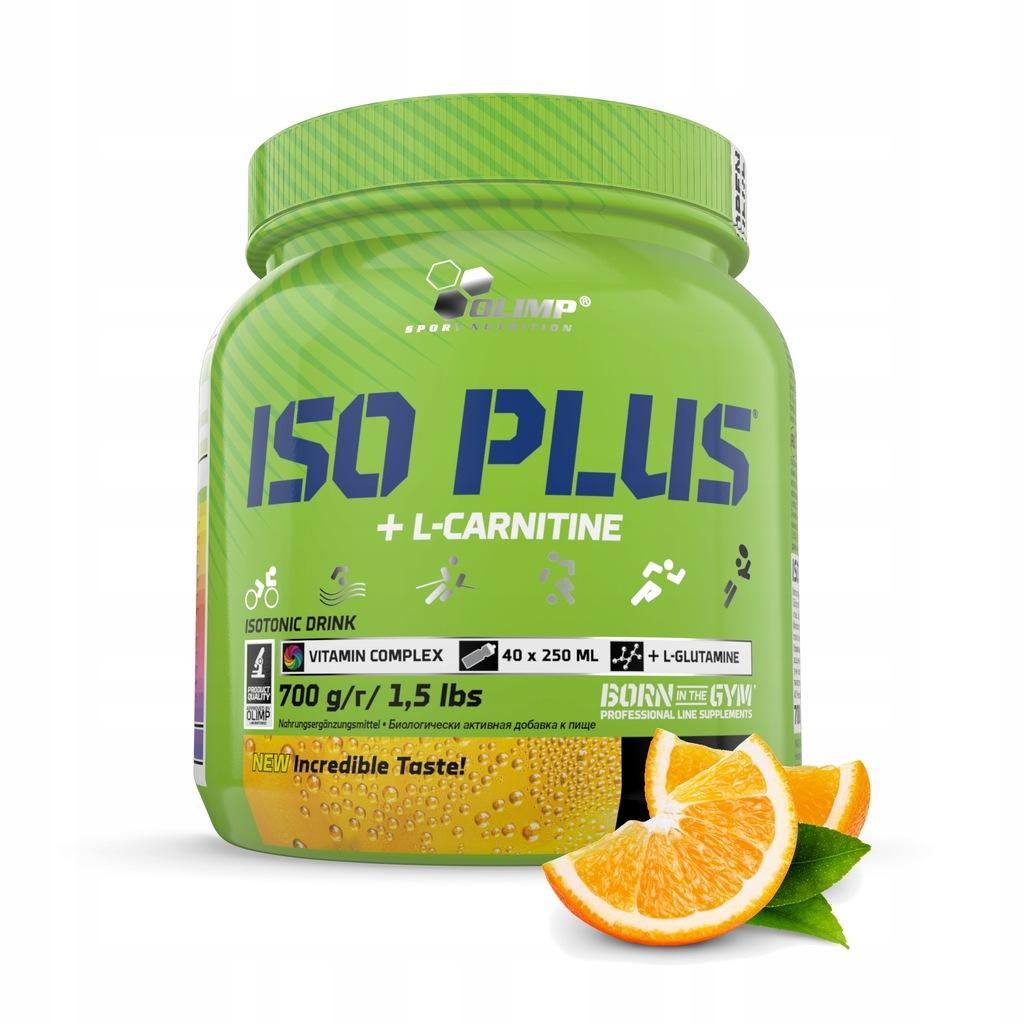 Iso Plus Powder - 700g (puszka) Pomarańczowy OLIMP