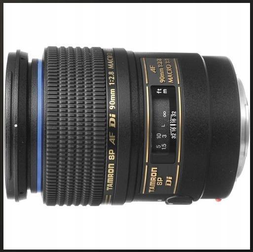 TAMRON SP 90mm f/2.8 Di Macro 1:1 NIKON Silnik AF