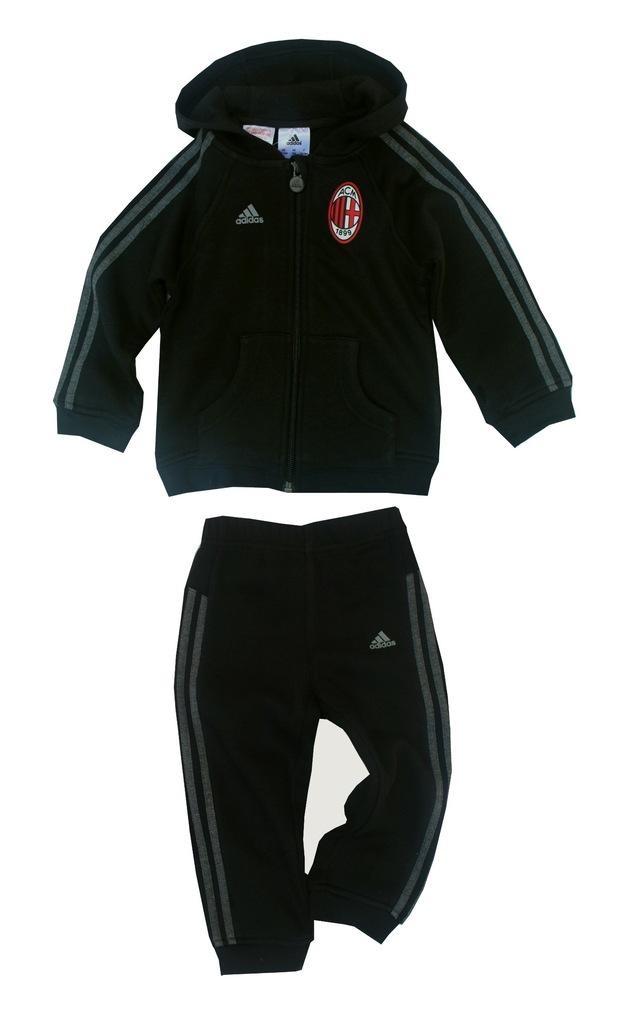 DRES ADIDAS AC MILAN bawelna spodnie i bluza r 80