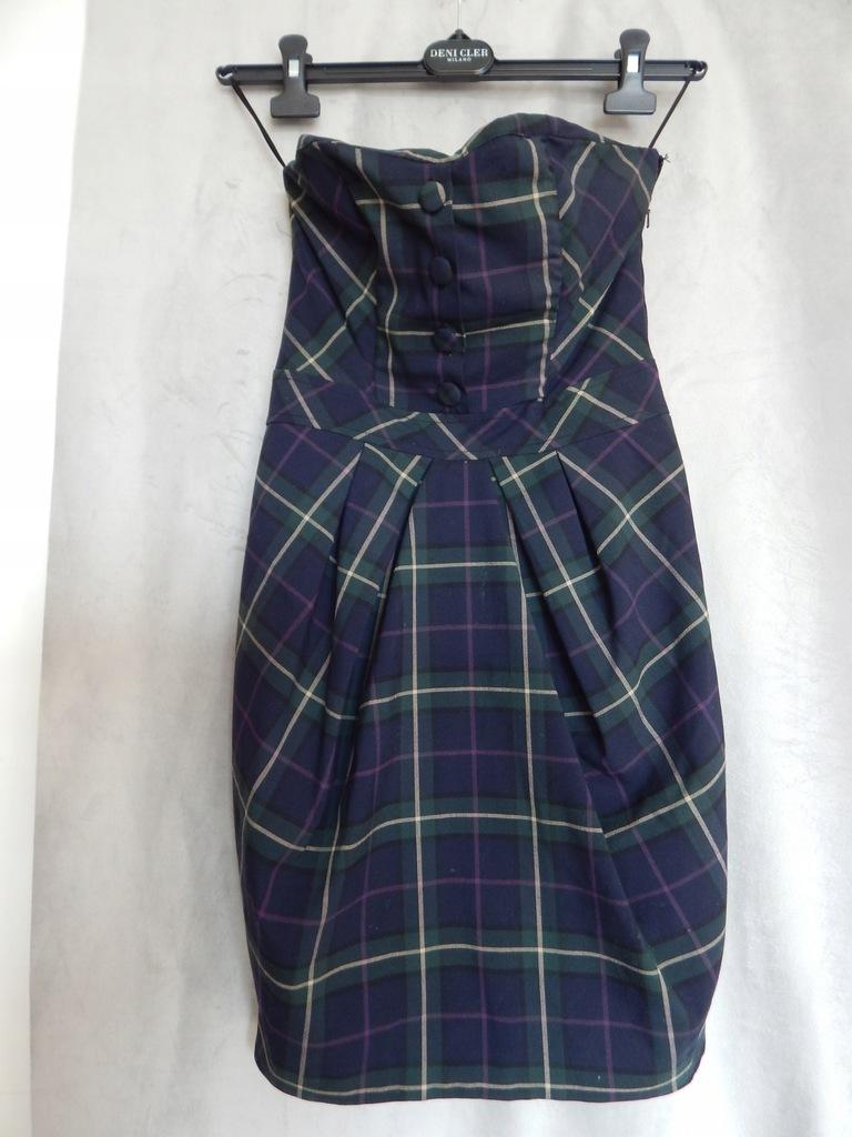 Gorsetowa sukienka w stylu V. Westwood rozm. 34 XS