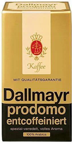 Dallmayr Prodomo 500g kawa mielona bezkofeinowa