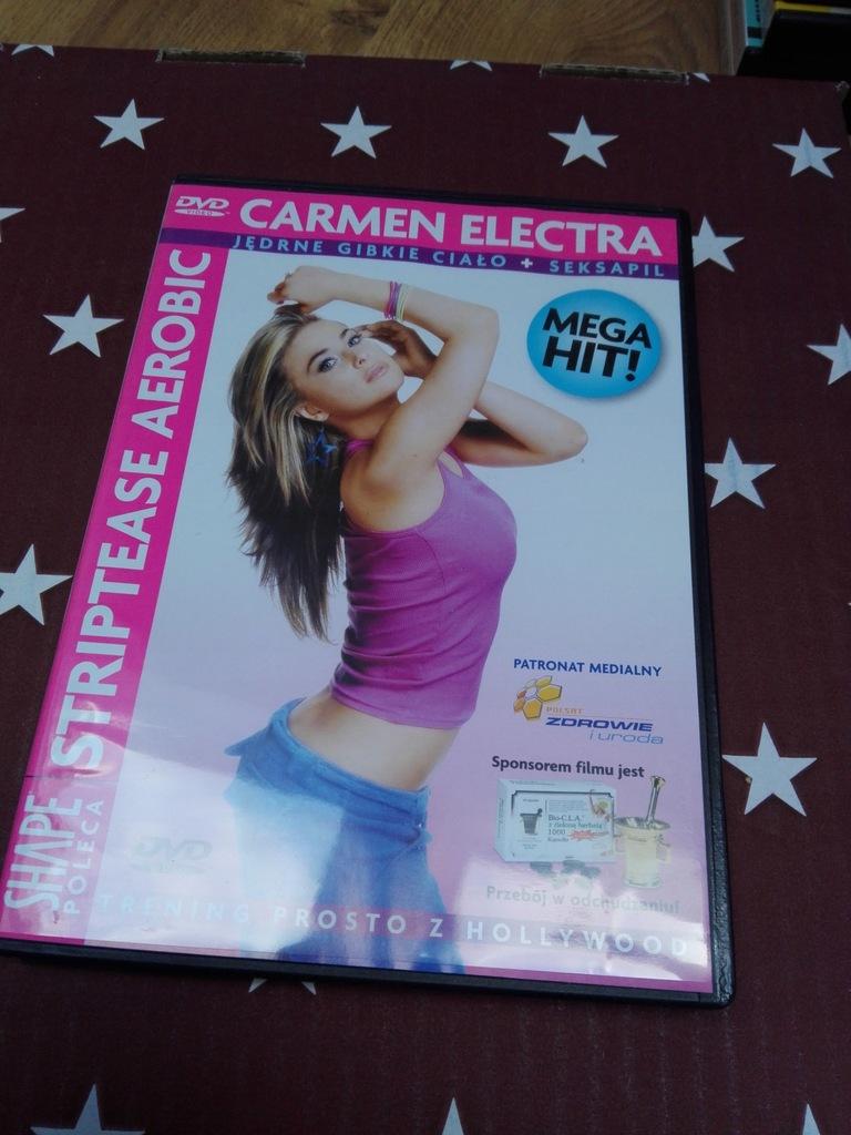 FITNESS SHAPE płyta dvd STRIPTEASE AEROBIK 1Gratis