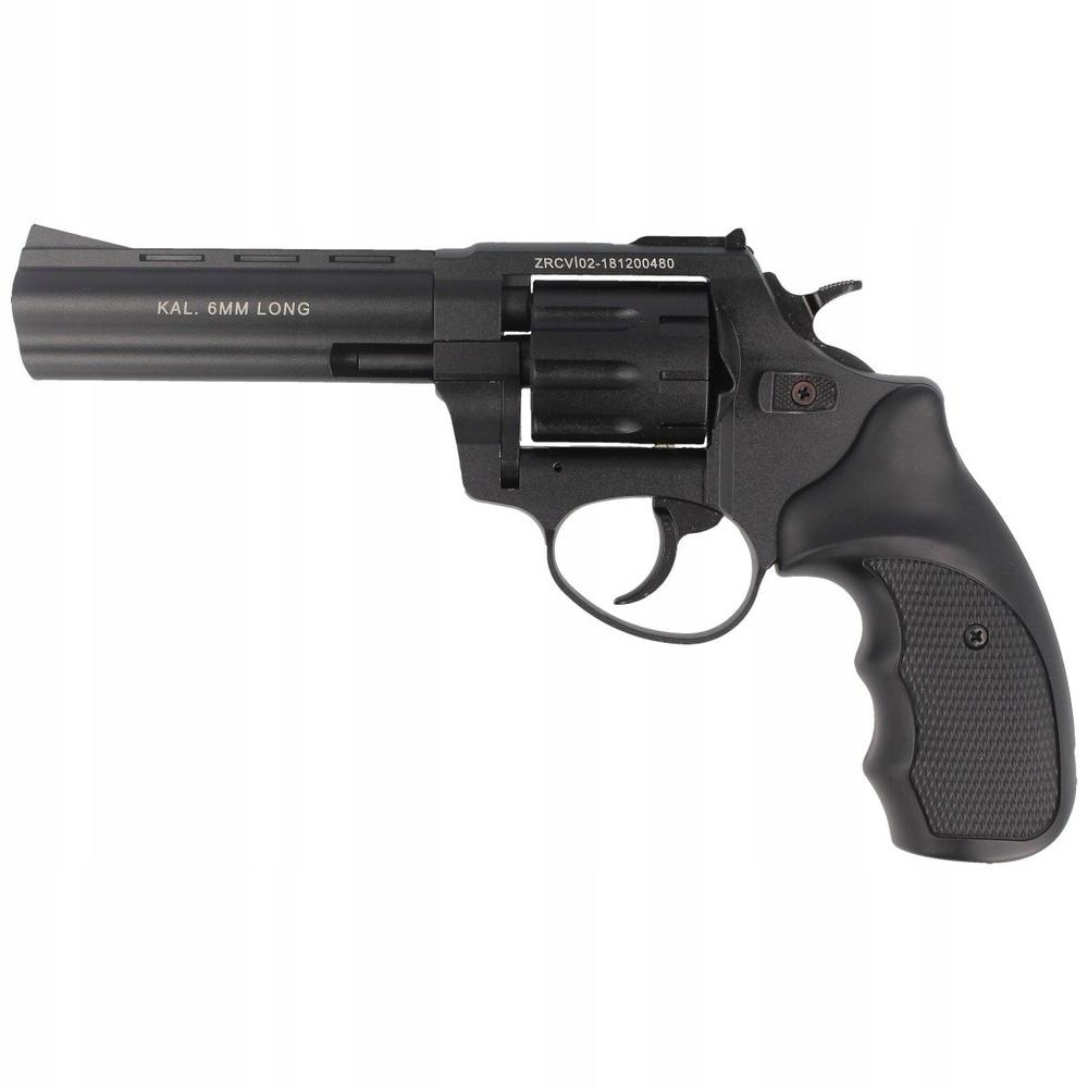 Rewolwer alarmowy Zoraki R1-4.5 6mm long Black