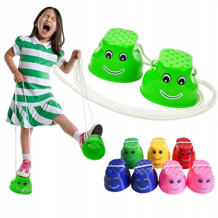 Szczudła Kubełkowe Chodaczki Dzieci Mix Kolorów