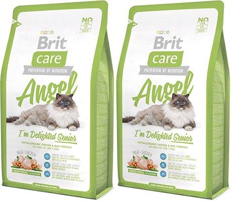 BRIT CARE CAT ANGEL SENIOR 2x2kg +KURIER
