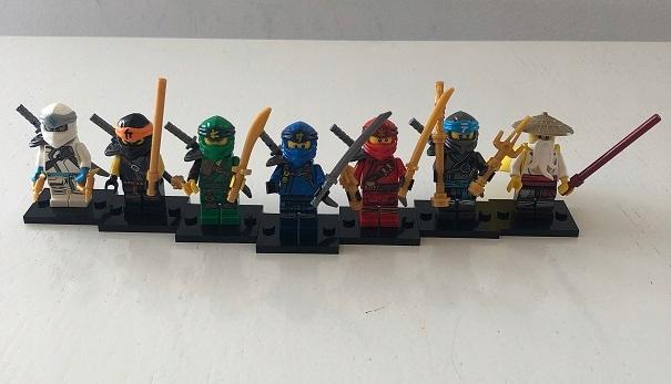 Zestaw-Figurki Ninjago + Sensei Wu. Wyprzedaż !!!