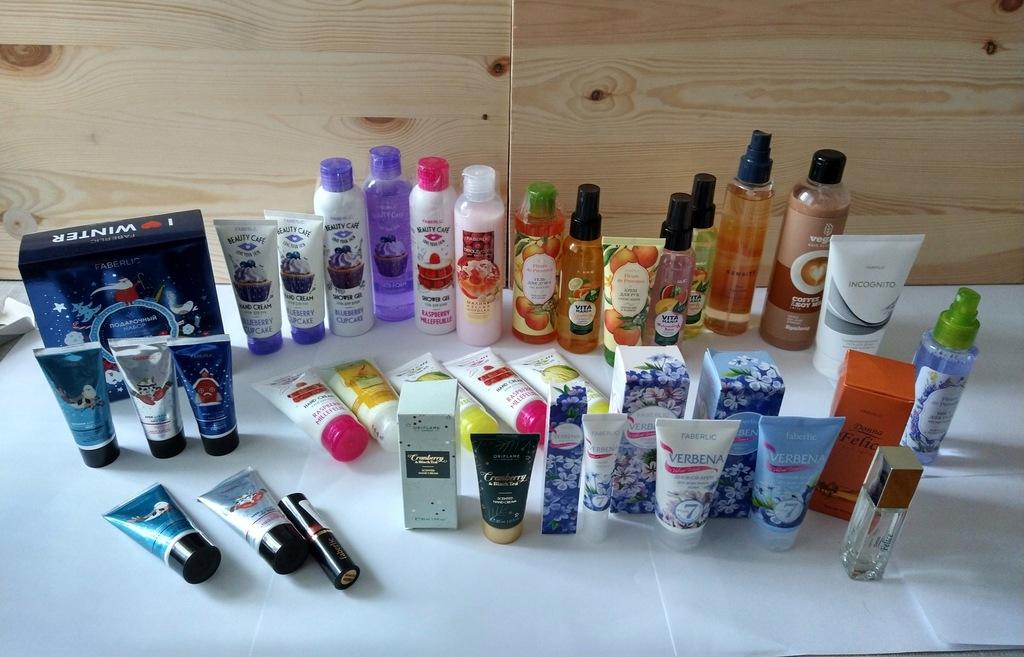 Zestaw kosmetyków Oriflame i faberlic od 1 zł NOWE
