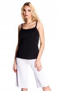 Koszulka Mewa PROMENADA jedwab wiskozowy 38 biały