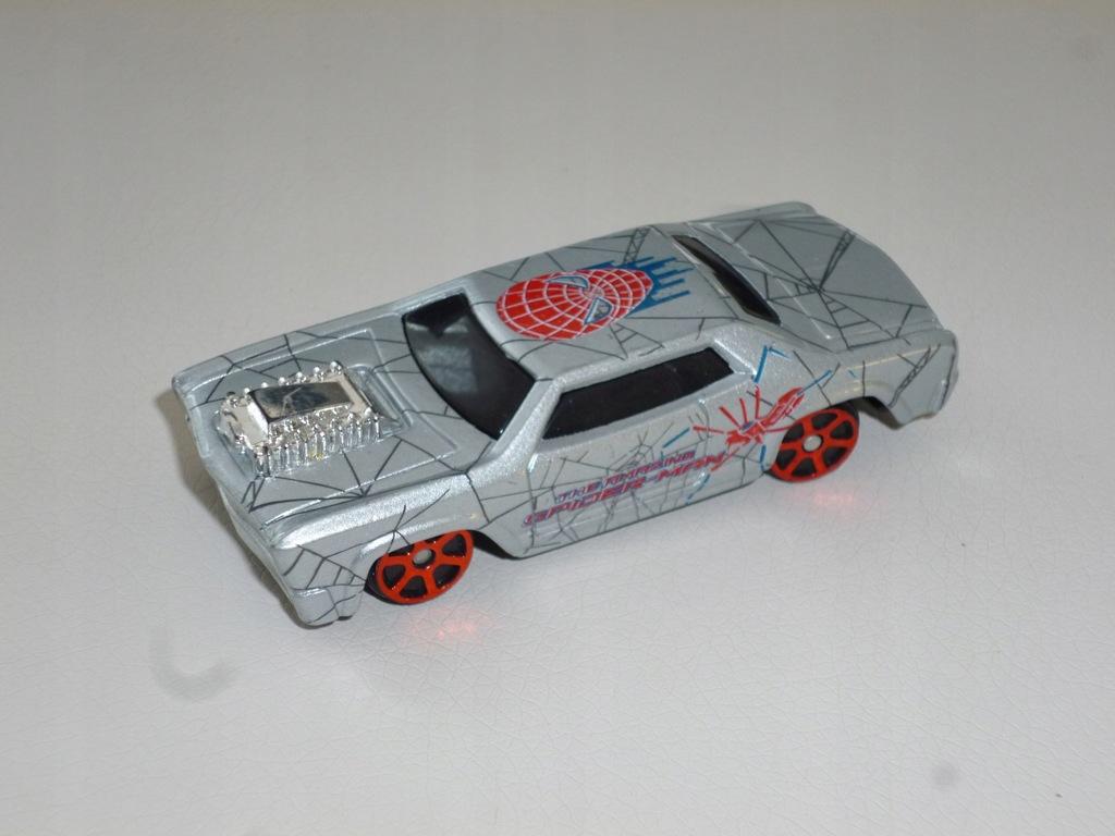 Rosewood Spiderman Maisto model resorak autko