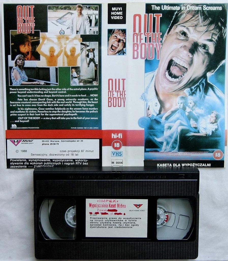 Poza ciałem - VHS