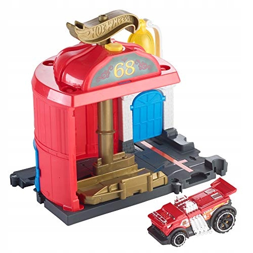 Remiza strażacka Hot Wheels FMY96 City Playset
