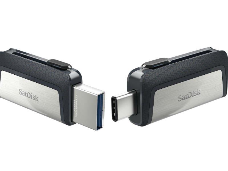 SanDisk ULTRA Dual USB Typ C 16 GB 130 MB/s