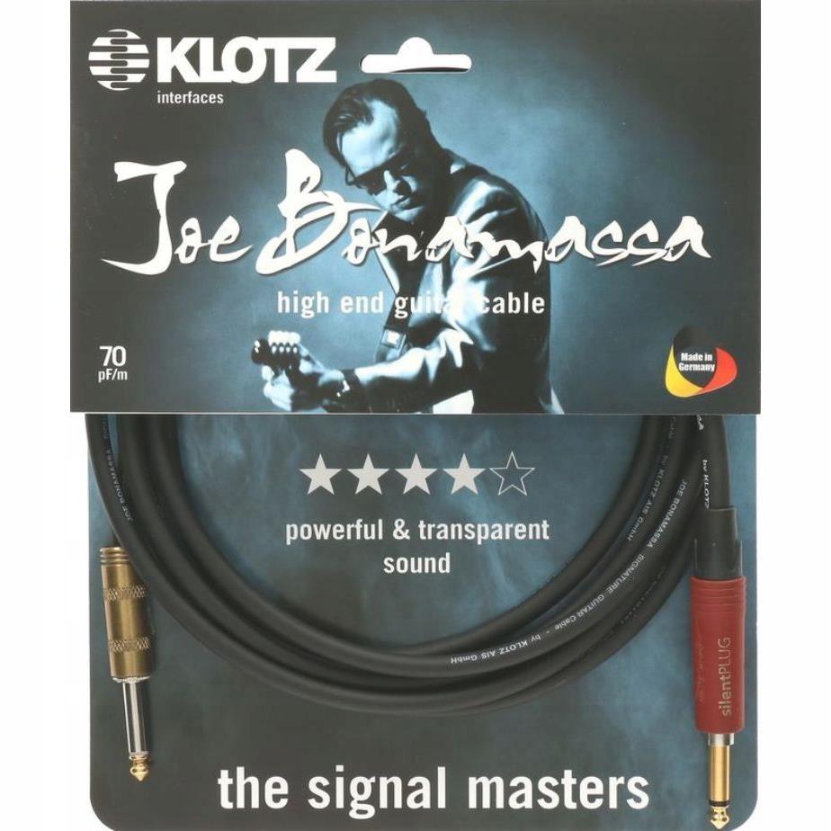 Kabel J-J 3m Klotz Joe Bonamassa JBPSP030 silent