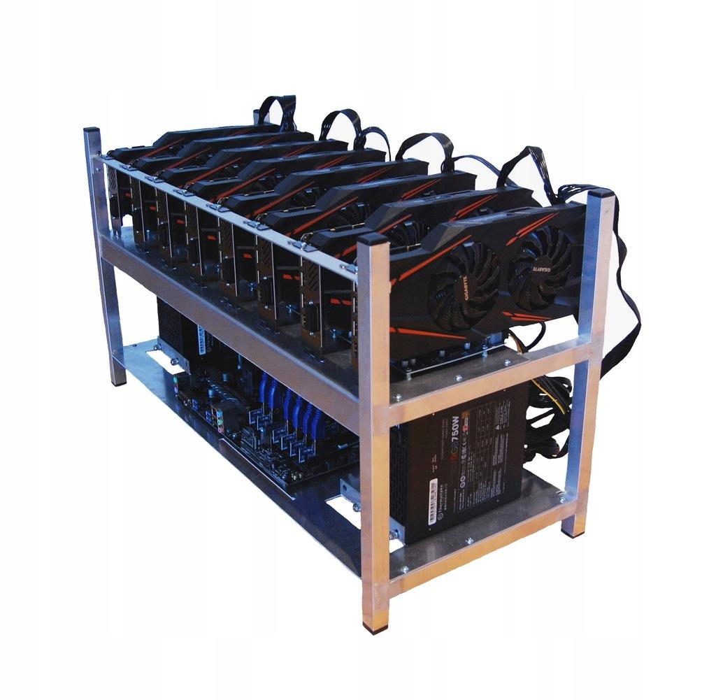 Koparka kryptowalut 8x RTX 2070 SUPER 5 LAT GW.