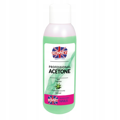 Aceton Remover Aloes RONNEY 500ml RN00 557