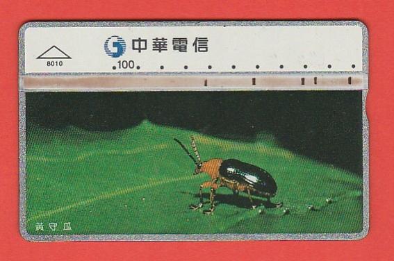 TAJWAN fauna chrząszcz / 8010 / seria 842K