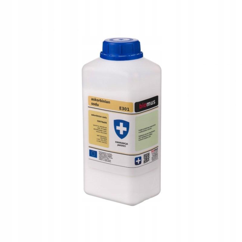 Biomus Askorbinian Sodu 100 g Odporność Grypa