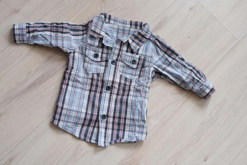 Koszula w kratkę Early days 0-3msc 56cm