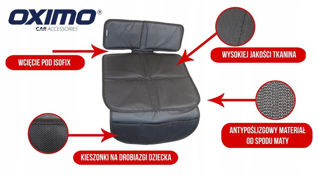 Mata ochronna pod fotelik samochodowy OXIMO: mała