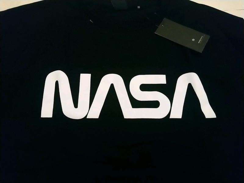 NASA bluza czarna Bluza XXL