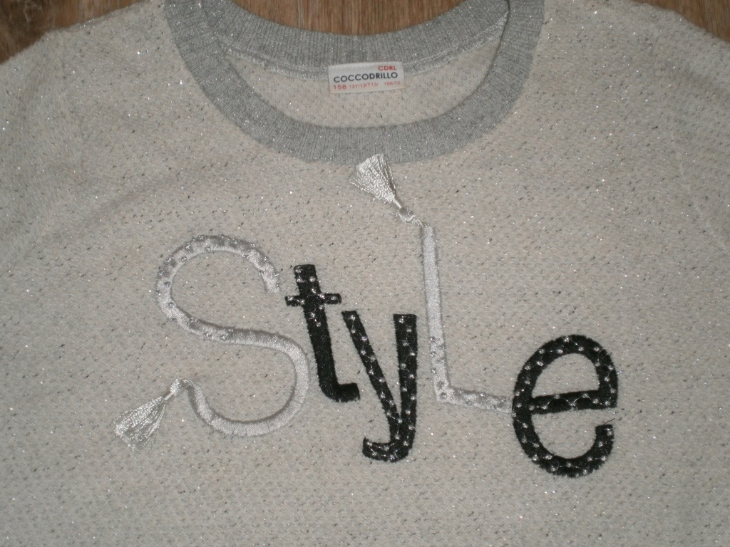 Świetny nowy sweterek - Coccodrillo