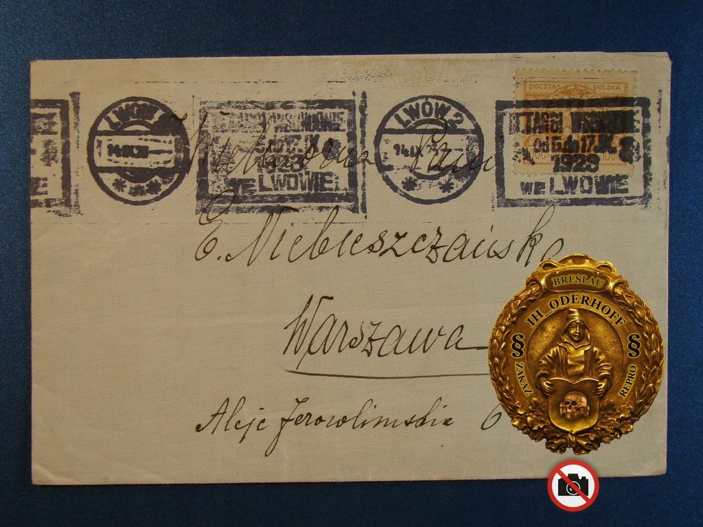 1923 R Lwow Targi Wschodnie Warszawa D8386 9475509205 Oficjalne Archiwum Allegro