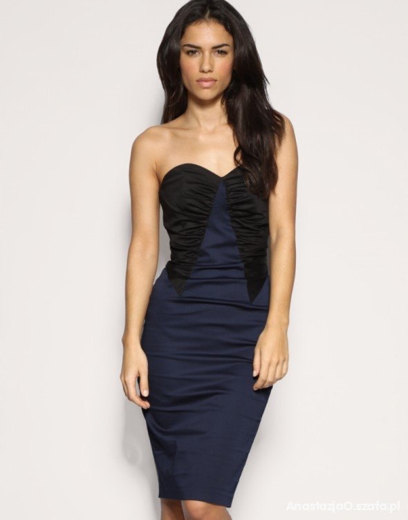 ASOS elegancka ołówkowa sukienka M/L