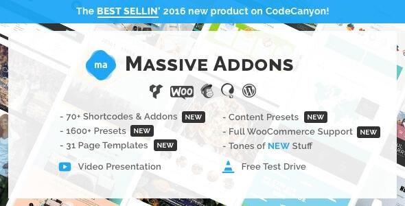 Massive Addons /Dodatki dla WPBakery Page Builder