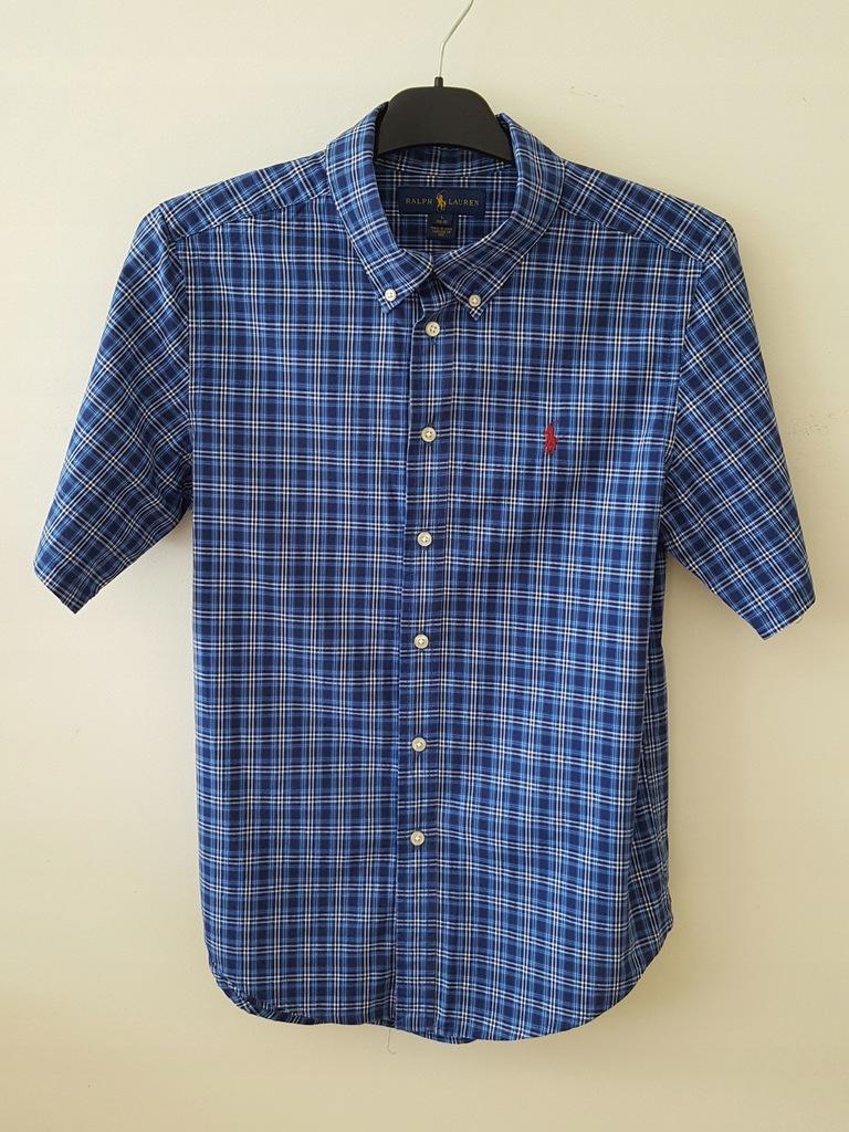 Koszula w kratkę Ralph Lauren r. L (14-16)