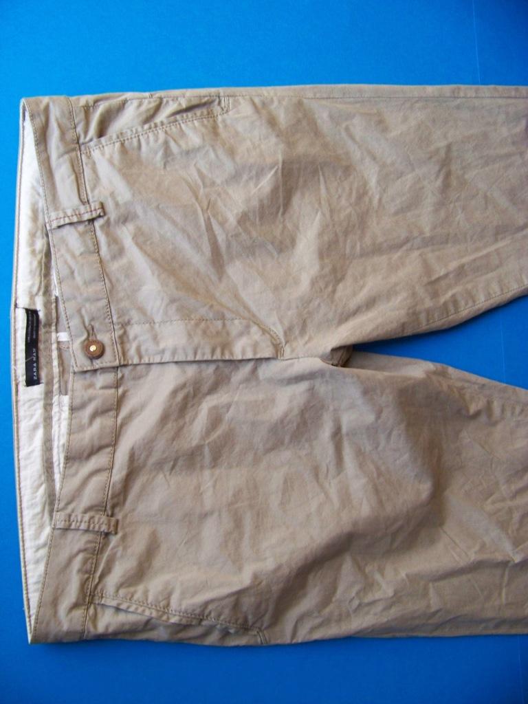 Zara Spodnie męskie W40L32 chinosy chino