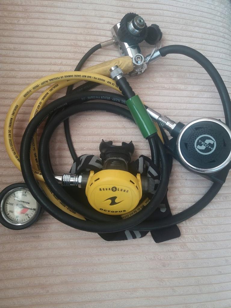 Automat oddechowy kompletny zestaw