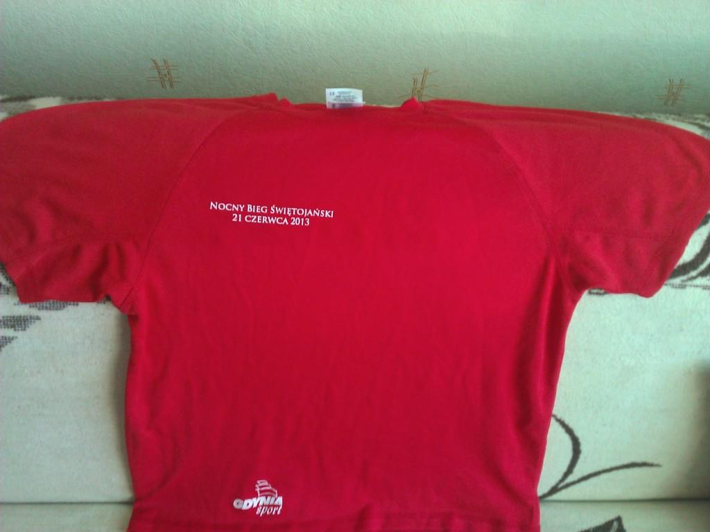 Koszulka techniczna t-shirt do biegania