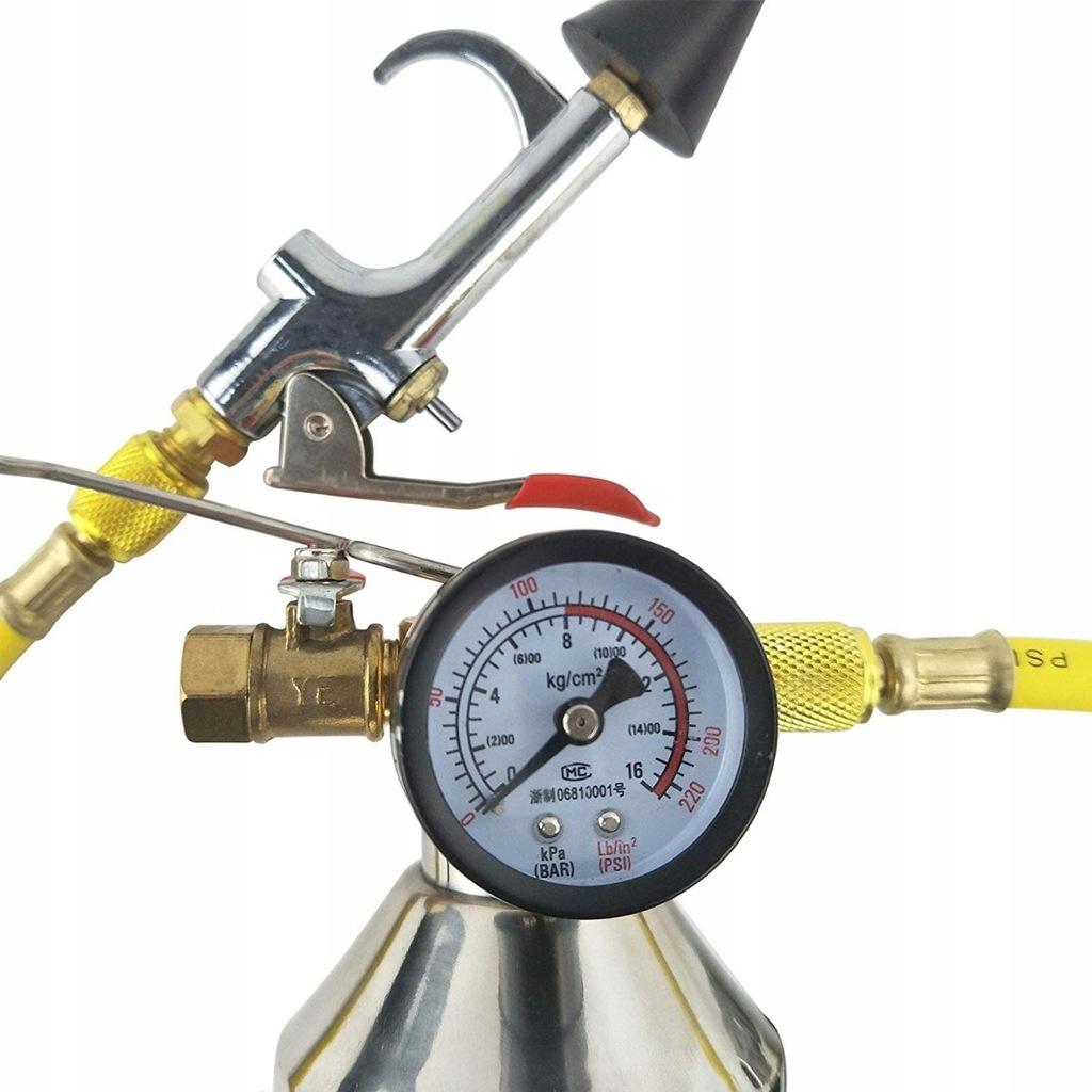 Zestaw do płukania klimatyzacji z manometrem