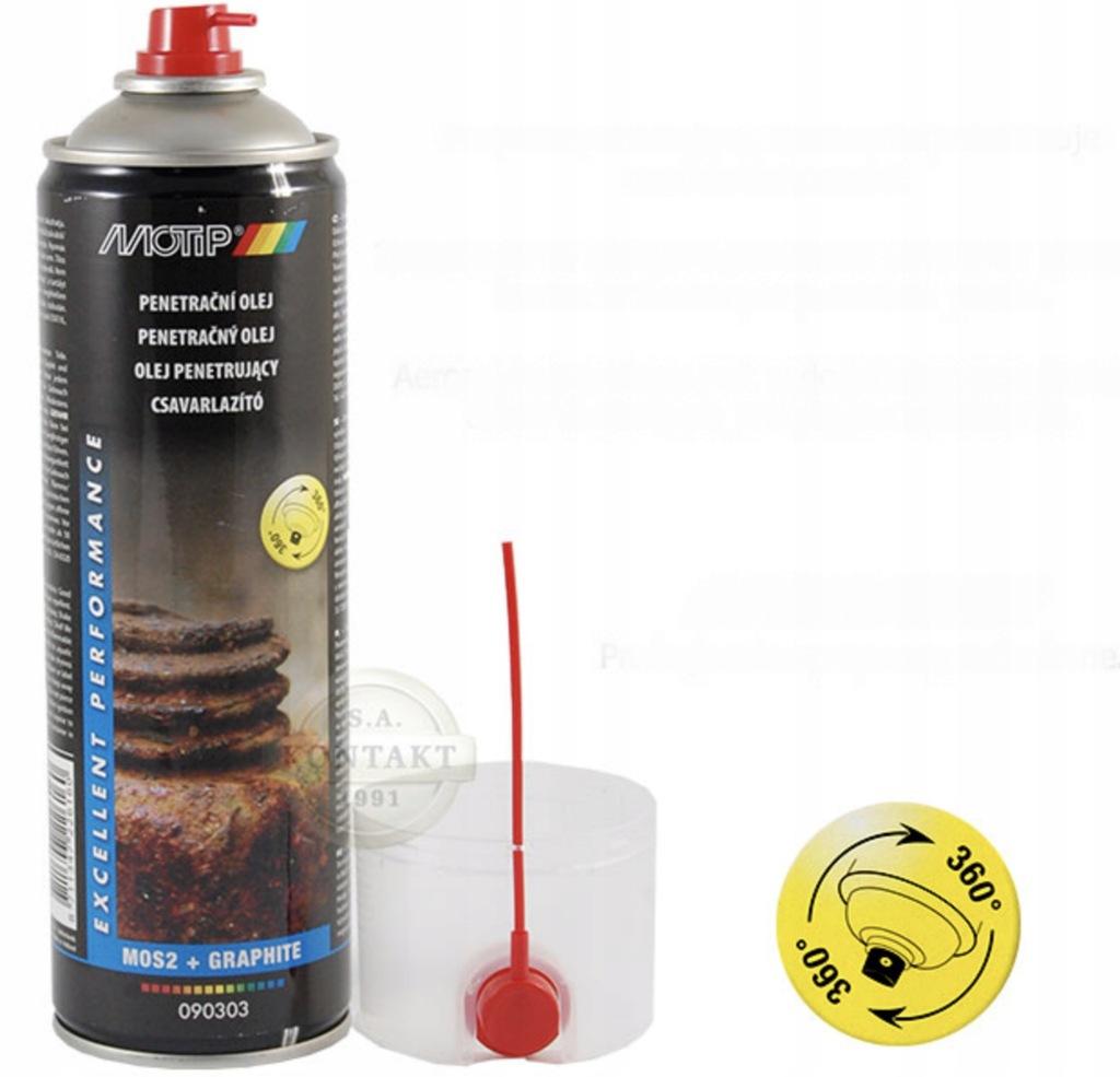Odrdzewiacz w spray 500ml MOTIP 090303