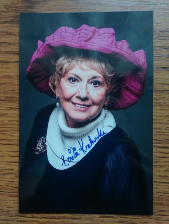 Emilia Krakowska autograf