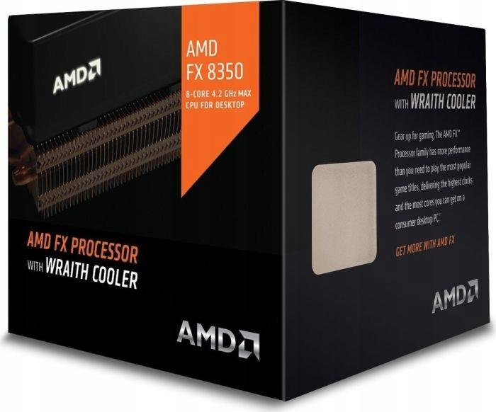 Procesor FX-8350 8x 4,2 GHz AM3+Wraith Cooler 16MB