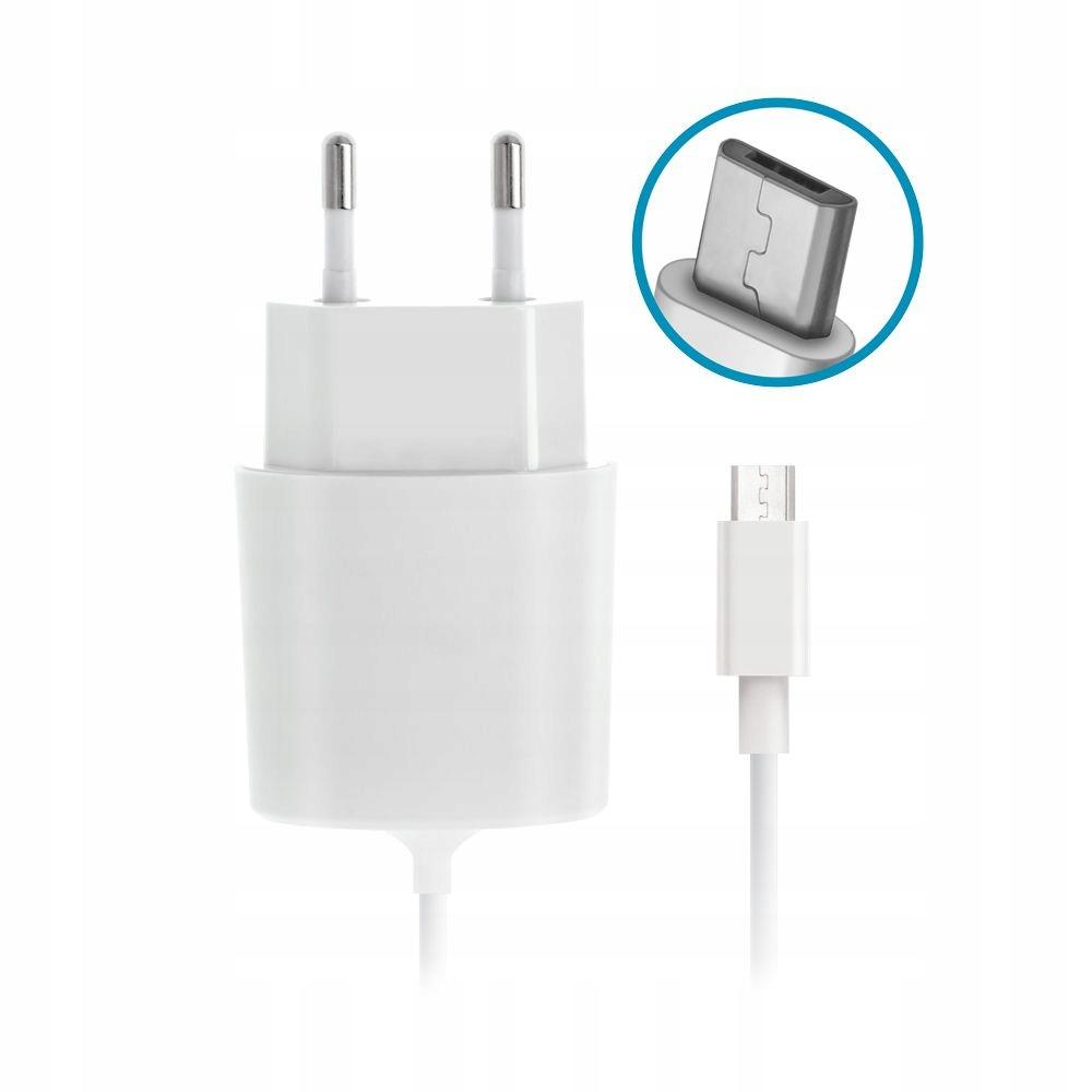 Ładowarka sieciowa Forever micro USB 2,1 A biała