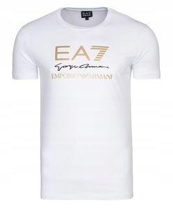 EMPORIO ARMANI koszulka męska biała T85 r.L