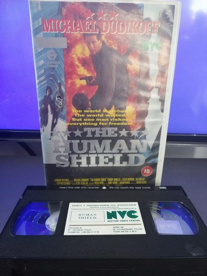 człowiek tarcza - VHS