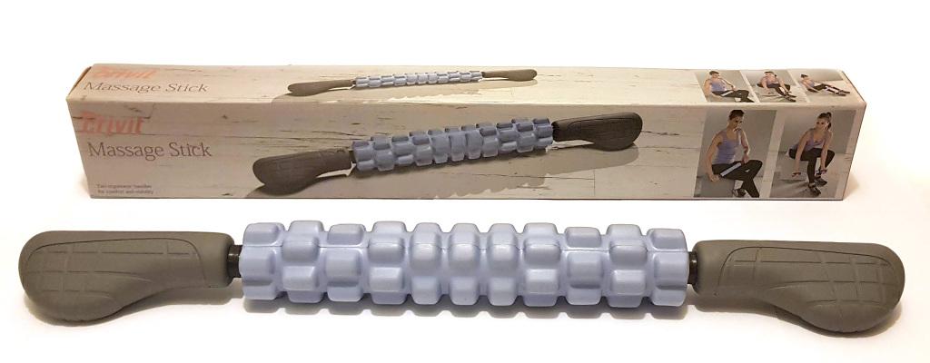 Wałek do masażu ROLLER z rączkami LIDL