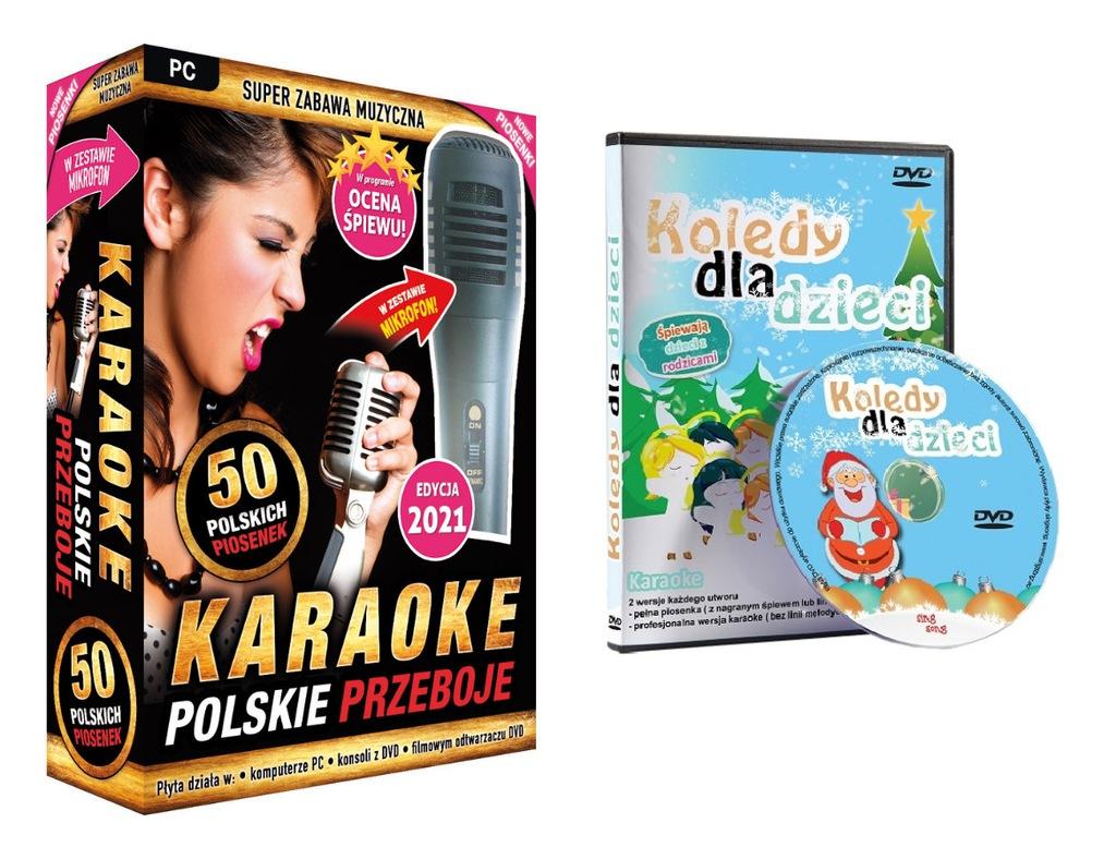 Polskie Przeboje 2020 + Kolędy Karaoke Dla Dzieci