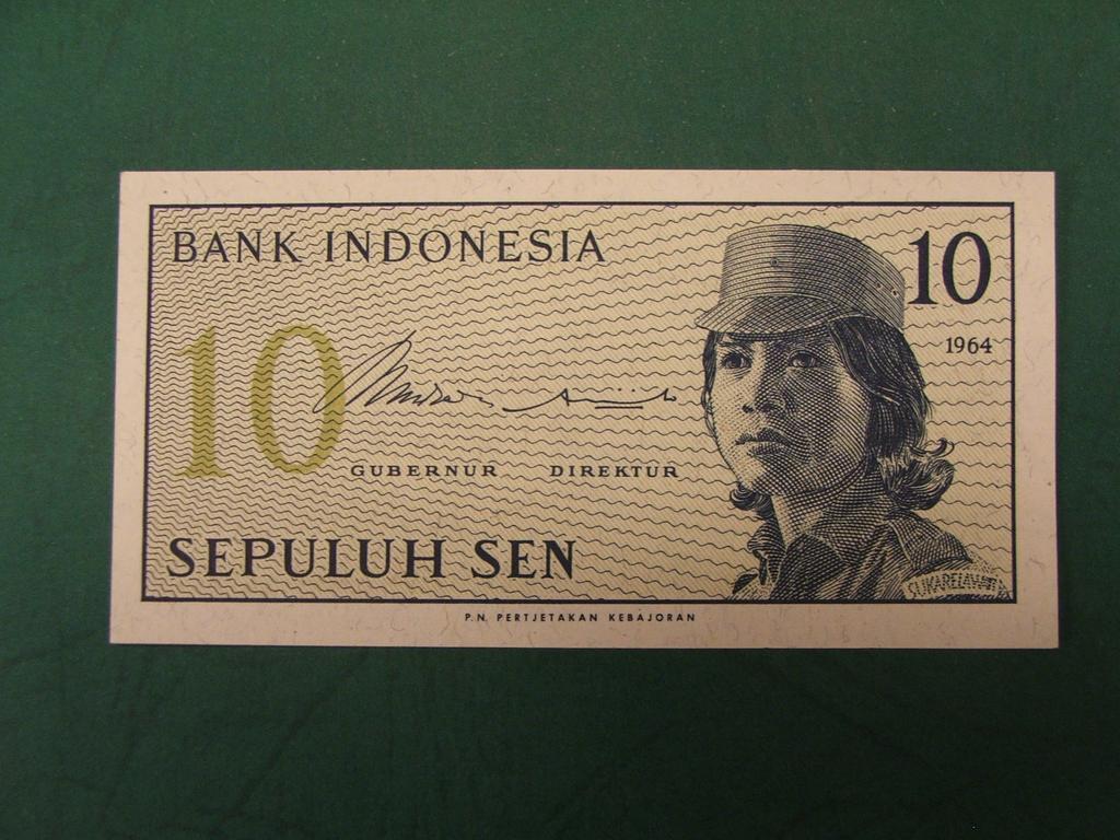 Banknot z Indonezji