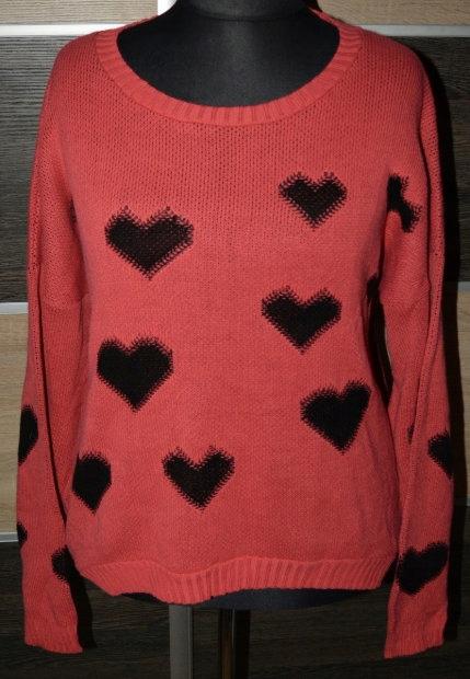3* Sweter w serduszka South 52