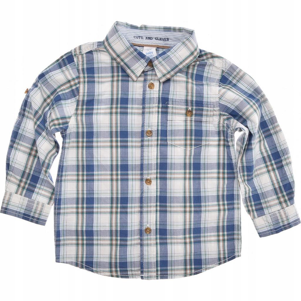 C&A koszula chłopięca w Kratke roll-up 86